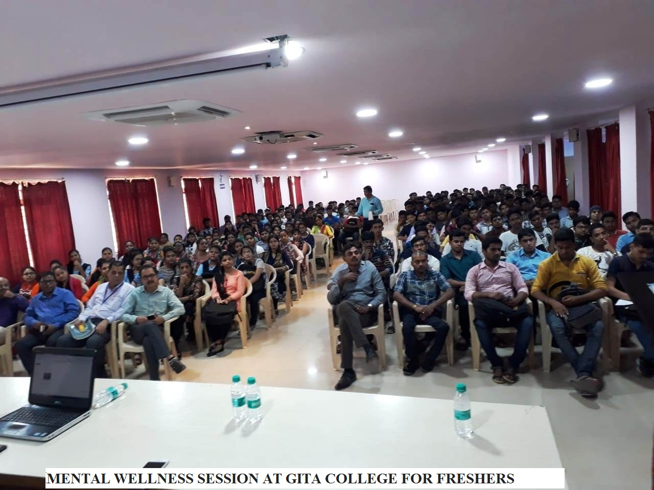 MENTAL WELLNESS SESSION AT GITA COLLEGE FOR FRESHERS