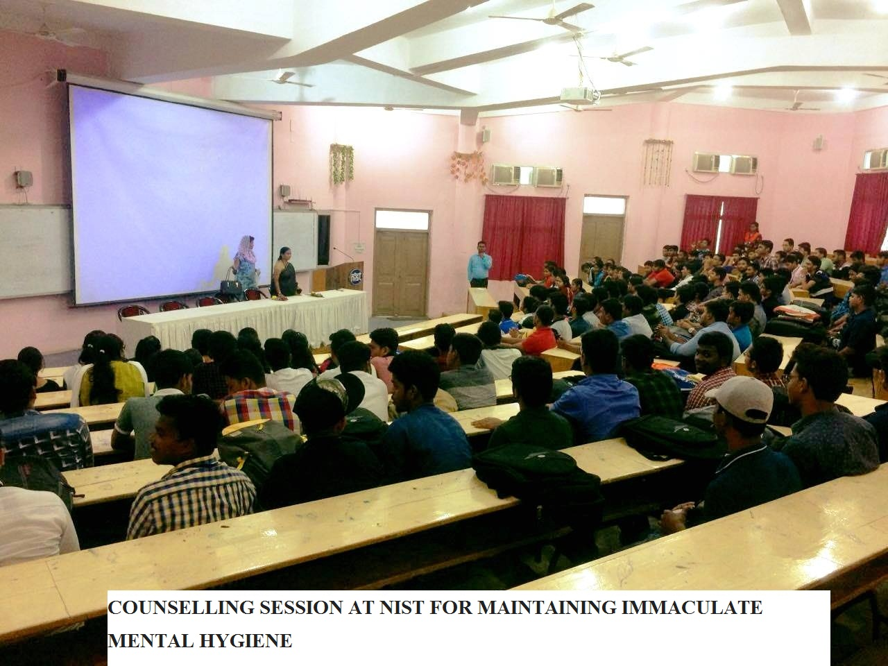 COUNSELLING SESSION AT NIST FOR MAINTAINING IMMACULATE  MENTAL HYGIENE
