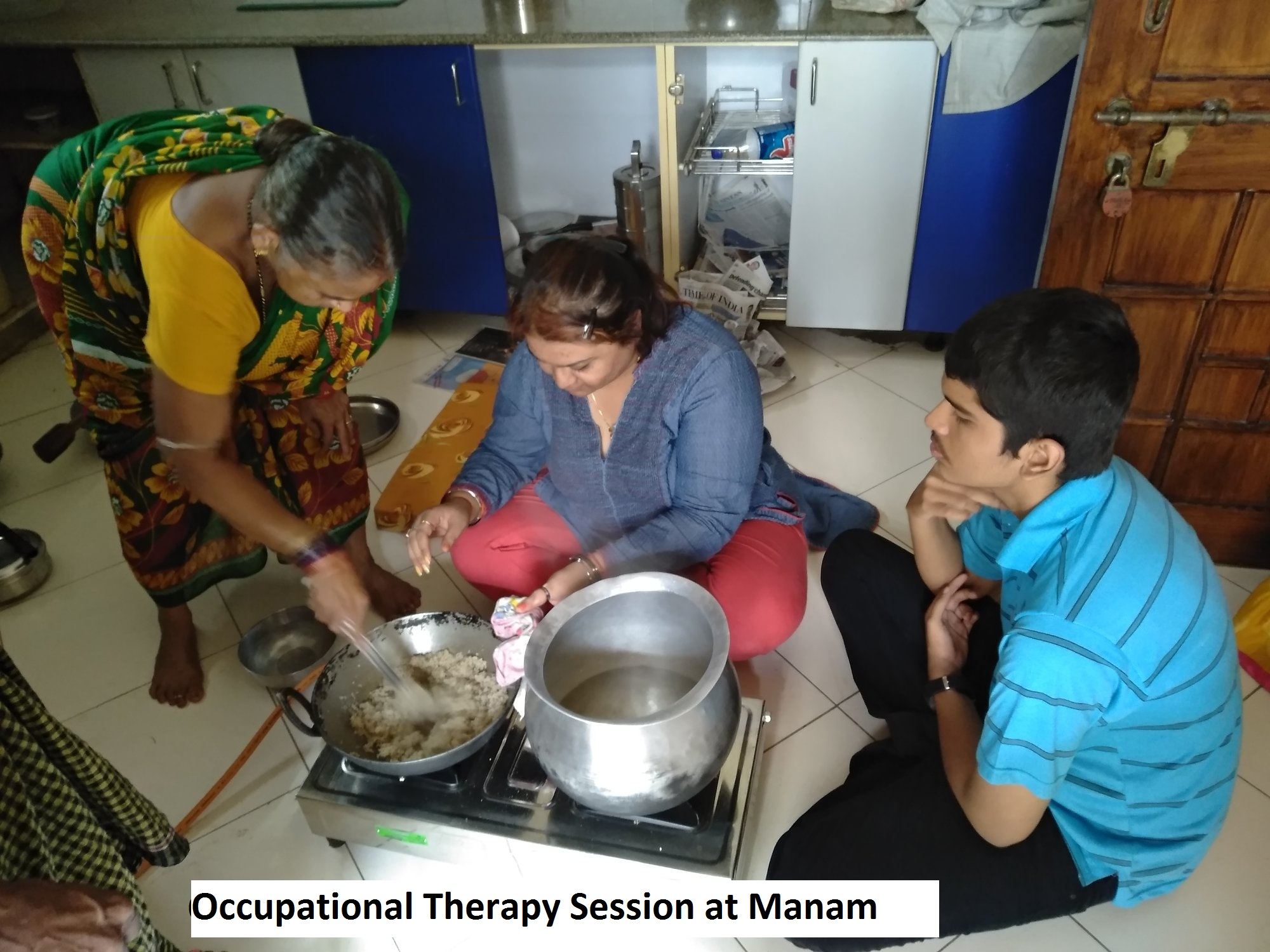 OCCUPATIONAL THERAPY SESSION AT MANAM
