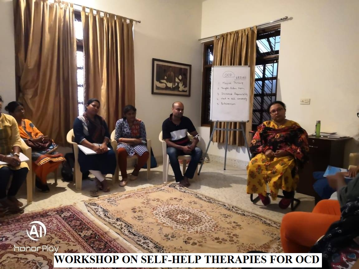 WORKSHOP ON SELF-HELP THERAPIES FOR OCD